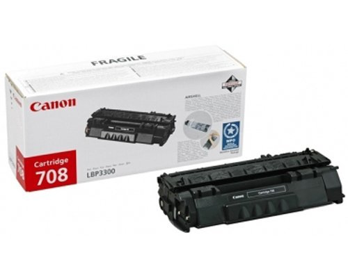 CANON TONER LASER NERO CRG708 2.500 PAGINE LBP/3300/3360