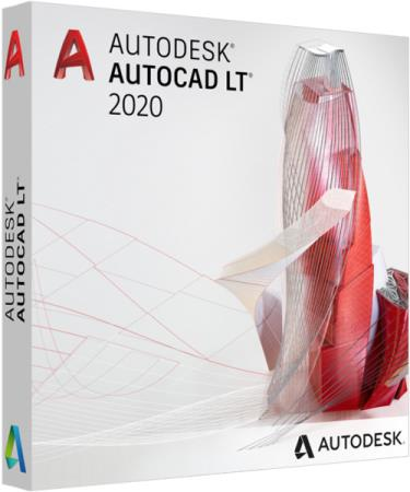 AUTODESK AUTOCAD LT 2020 COMMERCIAL NEW SINGLE USER ELD ANNUAL SUBSCRIPTION