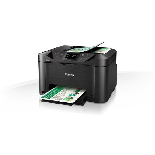CANON STAMP. MULTIFUNZ. INK-JET MAXIFY MB5150 COLORI A4 600X1200DPI USB/WIRELESS/ETHERNET STAMPANTE SCANNER COPIATICE FAX