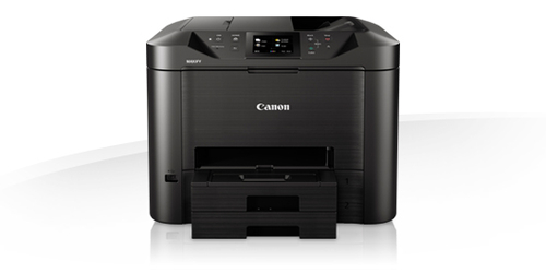 CANON STAMP. MULTIFUNZ. INK-JET MAXIFY MB5450 COLORI A4 600X1200DPI USB/WIRELESS/ETHERNET STAMPANTE SCANNER COPIATRICE FAX