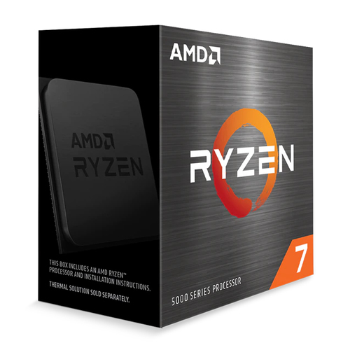AMD CPU RYZEN 7 5800X 4,70GHZ 8 CORE SKT AM4 CACHE 36MB 105W WOF