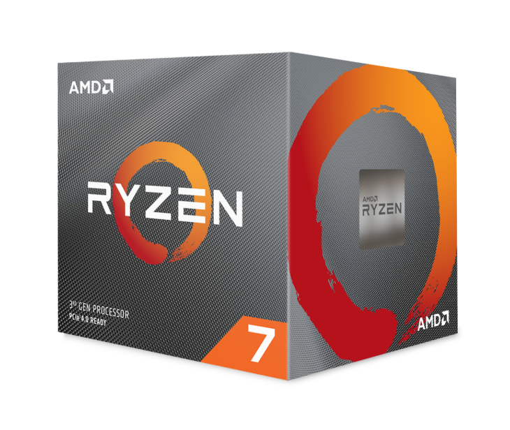 AMD CPU RYZEN 7 3800XT 4,7GHZ AM4 8 CORE 36MB CACHE 105W NO COOLER