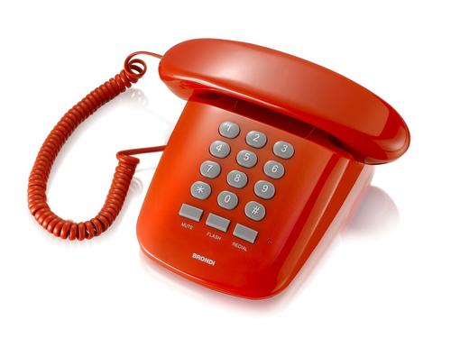 BRONDI TELEFONO SOLE ROSSO
