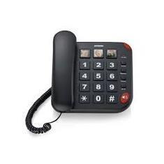 BRONDI TELEFONO BRAVO 15 GRANDI TASTI 3 MEMORIE DIRETTE VIVAVOCE AUDIO BOOST