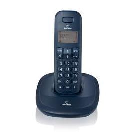 BRONDI TELEFONO CORDLESS GALA NERO SVEGLIA 300M PORTATA