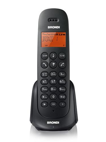 BRONDI TELEFONO CORDLESS ADARA SB ECO DECT CON SEGRETERIA TELEFONICA