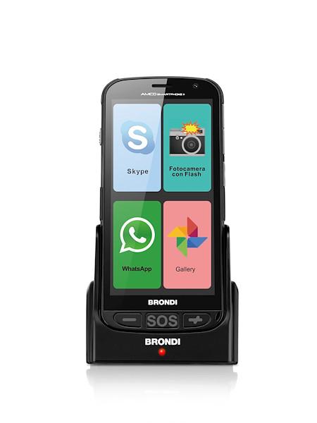 BRONDI SMARTPHONE + DUAL SIM 512MB+4GB NERO