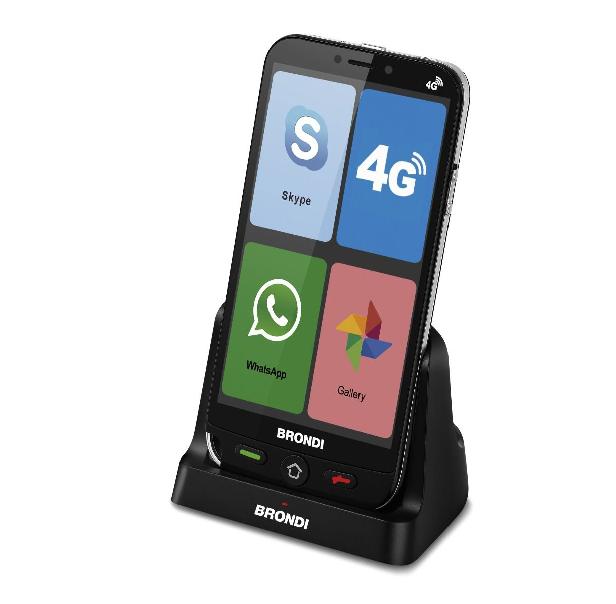 BRONDI AMICO SMARTPHONE 4G 1GB RAM+8GB DUAL SIM NERO