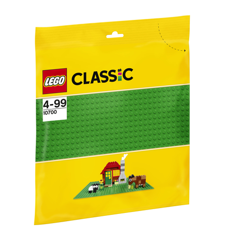 LEGO CLASSIC: BASE VERDE