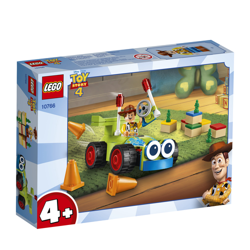 LEGO JUNIORS: TOY STORY 4 - WOODY E RC