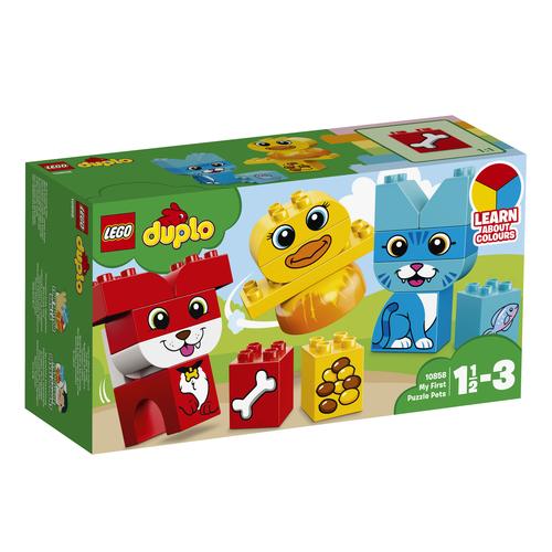 LEGO DUPLO: IL MIO PRIMO PUZZLE DEGLI ANIMALI