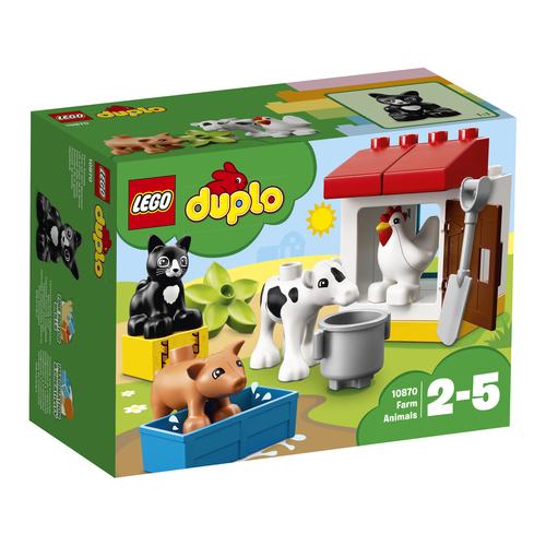 LEGO DUPLO: ANIMALI DELLA FATTORIA