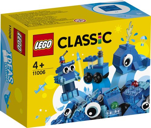 LEGO CLASSIC: MATTONCINI BLU CREATIVI