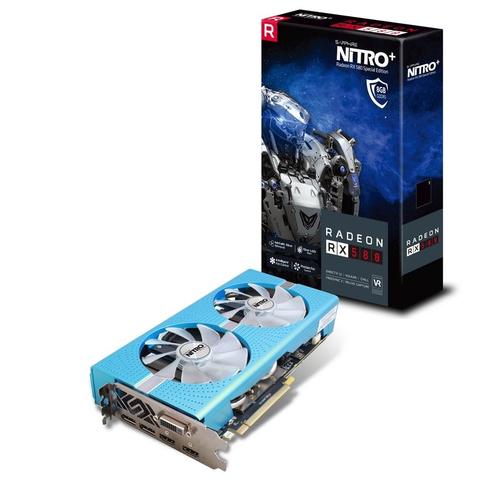 SAPPHIRE VGA NITRO+ RADEON RX 580 8G GDDR5 DUAL HDMI / DVI-D / DUAL DP W/BP (UEFI) SPECIAL EDITION LITE