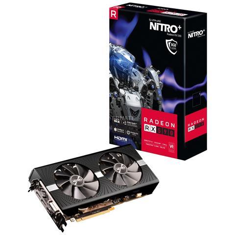 SAPPHIRE VGA NITRO+ RADEON RX 590 8G GDDR5 DUAL HDMI / DVI-D / DUAL DP W/BP OC (UEFI)