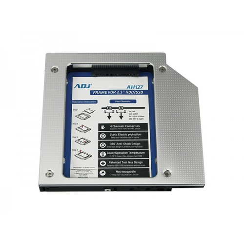 ADJ FRAME AH127 PER HDD/SSD 2,5 PER NOTEBOOK