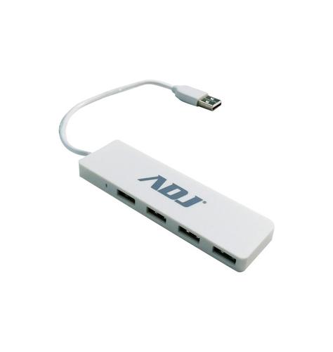 ADJ HUB 4 PORTE USB2.0 BIANCO