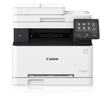 CANON MULTIF. LASER MF635CX A4 COLORE 18PPM 1200DPI FRONTE/RETRO DADF USB/ETHERNET STAMPANTE SCANNER COPIATRICE FAX