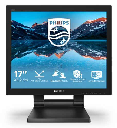 PHILIPS MONITOR TOUCH 17 LED TN 15:4 1280x1024, 250 CDM 1MS, IP65, VGA/DVI/DP/HDMI, MULTIMEDIALE