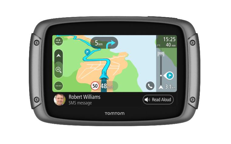 TOMTOM RIDER 500 ROAD TRIPS QUAD-CORE AGGIORNAMENTI TRAMITE WI-FI