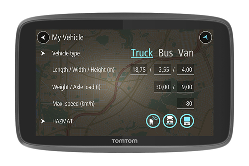 TOMTOM GO PROFESSIONAL 6200 EUROPA