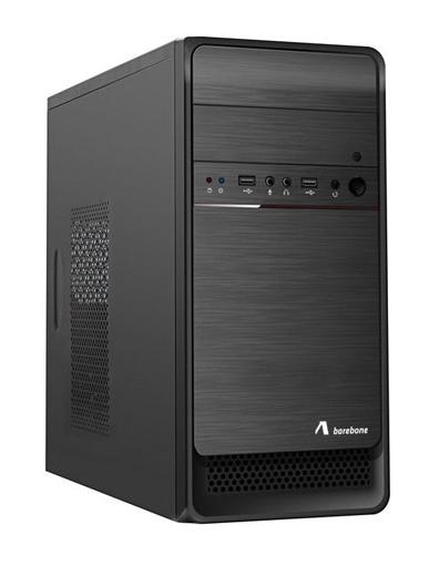 ADJ CASE MICRO ATX CON ALIMENTATORE 500W PSU 1 USB 2.0+3.0 NERO