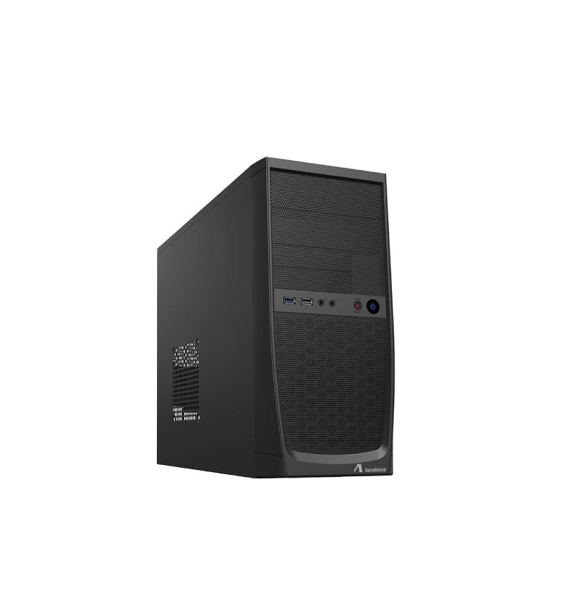 ADJ CASE MINI-TOWER NO ALIMENTATORE, MICRO-ATX/ITX, 1xUSB 2.0, 1xUSB 3.0