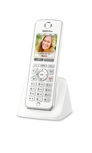 AVM FRITZ! FRITZ FON C4 INTERNATIONAL TELEFONO CORDLESS DECT
