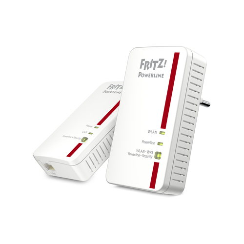 AVM FRITZ! KIT POWERLINE 1240E, 1PORTA LAN GIGABIT WIRELESS N300