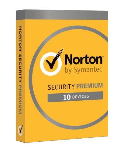SYMANTEC NORTON SECURITY PREMIUM 2018 25GB IT 1 USER 10 DEVICES 12MO CARD MM