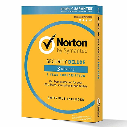 SYMANTEC NORTON SECURITY DELUXE 3.0 IT 1USER 3 DEVICE KIT1+1