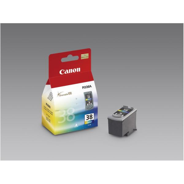 CANON CART.COLORE CL-38 PIXMA IP1800/2500/2600/MP210 PP205