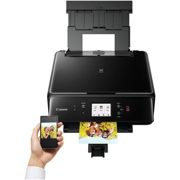 CANON MULTIF. INK PIXMA TS6150 A4 4800X1200DPI USB/WIRELESS/BLUETOOTH STAMPANTE SCANNER COPIATRICE BLACK ( 5 CARTUCCE)