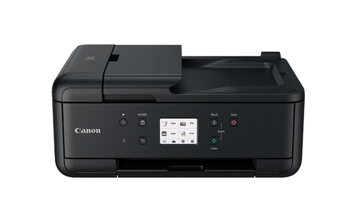 CANON MULTIF. INK PIXMA TR7550 A4 4800X1200DPI FRONTE/RETRO ADF USB/WIRELESS/BLUETOOTH STAMPANTE SCANNER COPIATRICE FAX (5 CARTUCCE)