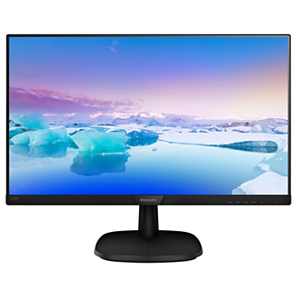 PHILIPS MONITOR LED 21,5, IPS 16:9, 1920X1080, 250 cd/m,, 5MS, VGA, HDMI, MULTIMEDIALE