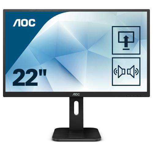 AOC MONITOR 21,5 LED TN FHD 16:9 250 CD/M 2MS PIVOT DVI/HDMI MULTIMEDIALE