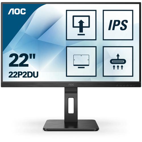 AOC MONITOR 21,5 LED IPS FHD 16:9 250 CD/M 4MS PIVOT VGA/DVI/HDMI, MULTIMEDIALE