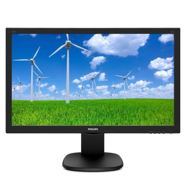 PHILIPS MONITOR 24 LED FULL HD 1920X1080 1MS MULTIMEDIALE HDMI VGA PIVOT GIREVOLE E INCLINABILE