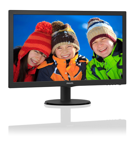 PHILIPS MONITOR 23,6 LED MVA 1920X1080 16:9 8MS 250 CD/M CONTR 3000:1 VGA/DVI/HDMI MULTIMEDIALE