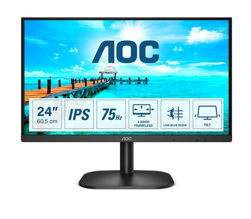 AOC MONITOR 23,8 LED IPS FHD 16:9 250 CDM, DVI/HDMI