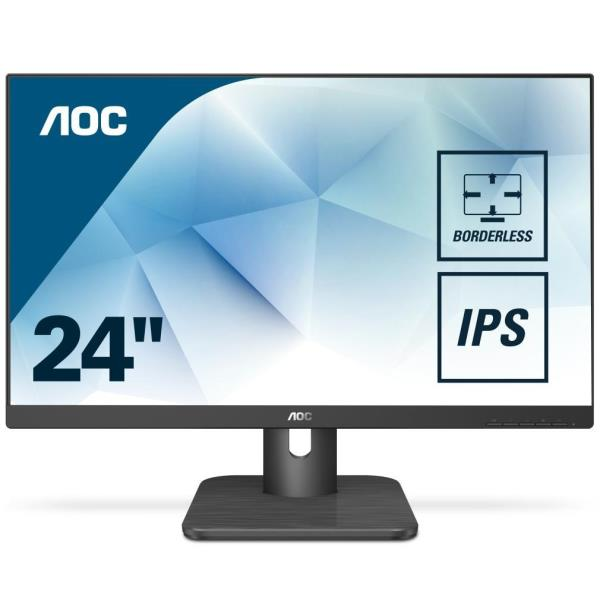 AOC MONITOR 23,8 LED UPS FHS 16:9 250CD/M 50HZ DP HDMI