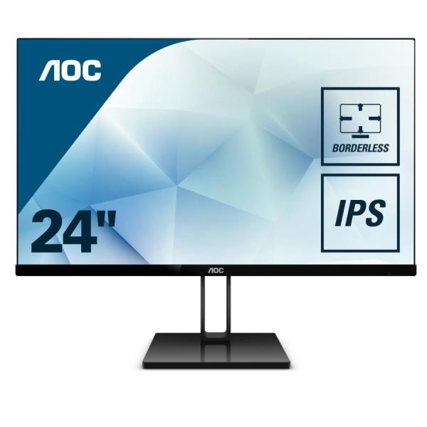 AOC MONITOR 23,8 16:9 IPS 1920X1080 250CD/M 50M:1 4MS HDMI DP