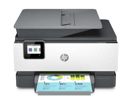 HP MULTIF. INK OFFICE JET PRO 9010e COLORI A4 22PM, USB/LAN/WIFI, 4IN1 - COMPATIBILE HP+,  6 MESI INST. INK, SMART SEC, PRIVATE PICKUP