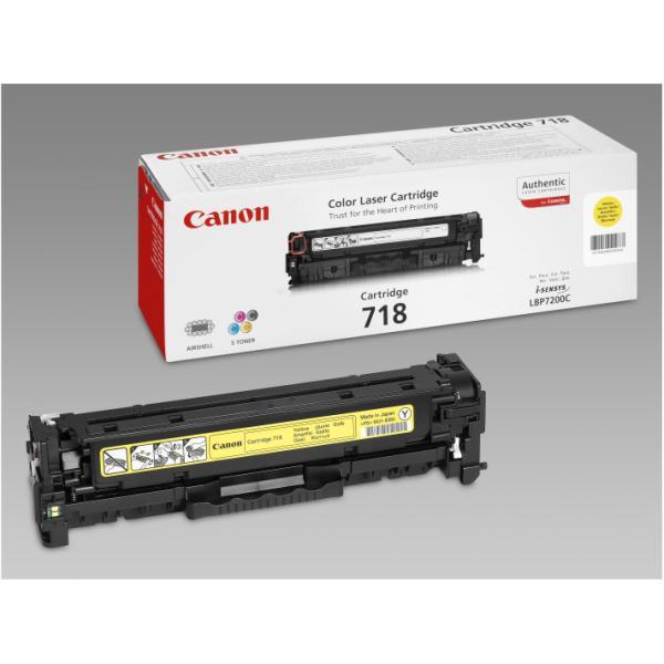 CANON TONER LBP7200 GIALLO 718Y LC C33226