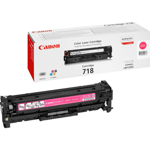 CANON TONER 718 MAGENTA LBP7200 LASER 2660B002