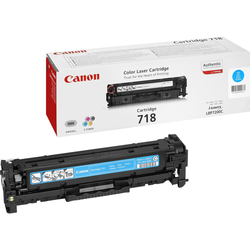 CANON TONER CRG718C  CIANO LBP 7200 2661B002