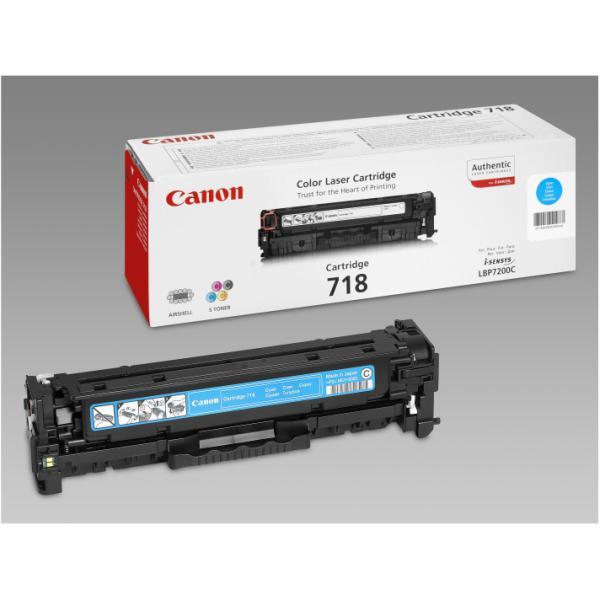 CANON TONER 718 CIANO LPB7200 LASER 2661B002
