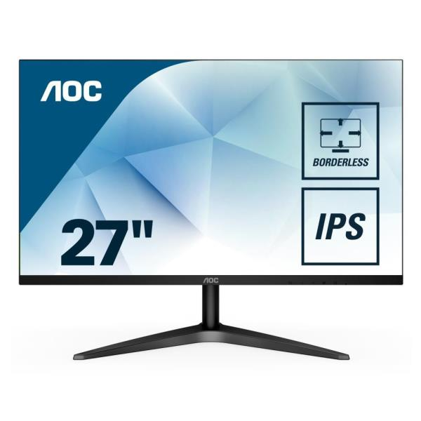 AOC MONITOR 27 16:9 IPS 1920X1080 250CD/M 50M:1 5MS HDMI