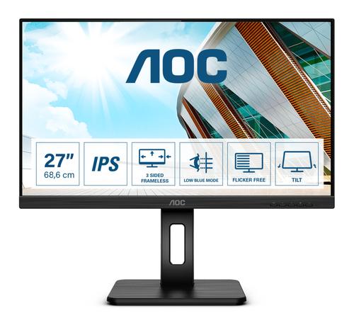 AOC MONITOR 27 LED IPS FHD 16:9 250 CDM, DVI/HDMI, USB-C, MULTIMEDIALE