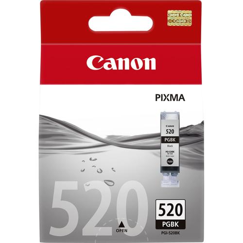 CANON SERBATOIO NERO PGI-520BK (CONT. 19ML) PIXMA IP4600  IP4700
